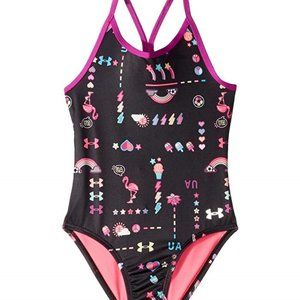 Under Armour Girls Best Life One Piece Swimsuit.